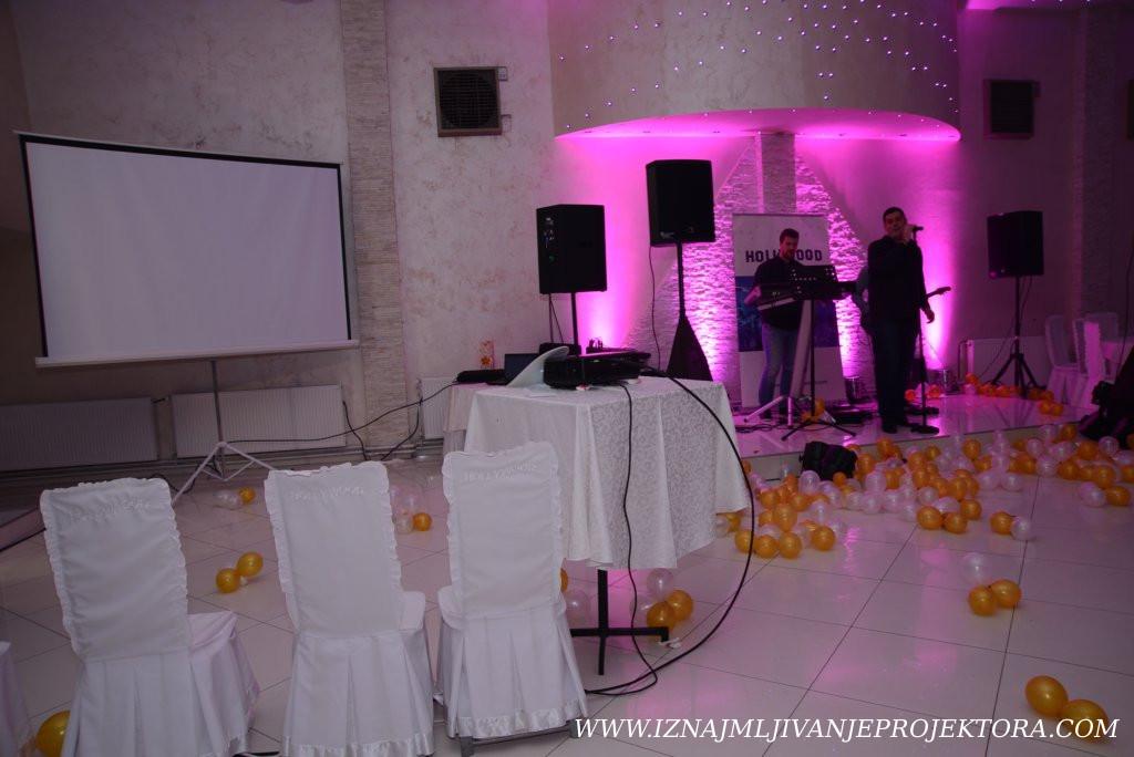 Iznajmite projektor za venčanje