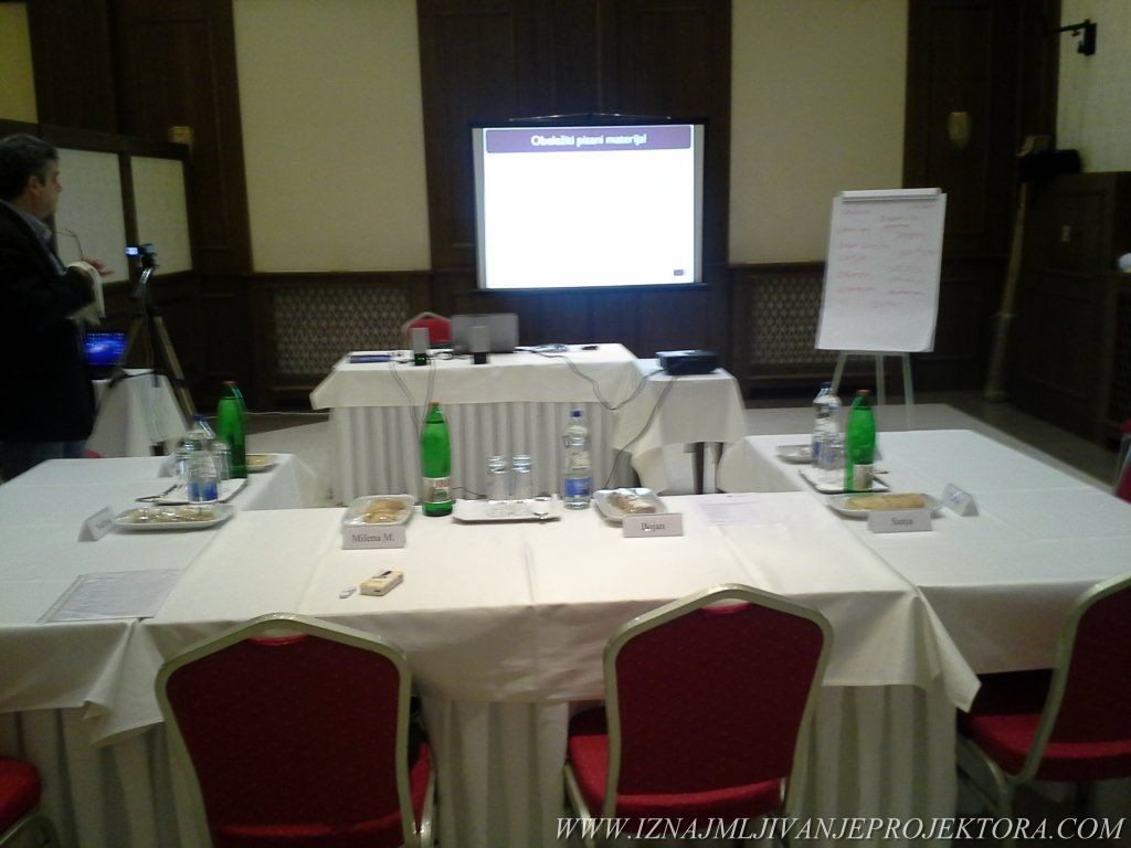 Iznajmljivanje projektora za poslovni kongres u hotelu Majdan u Beogradu
