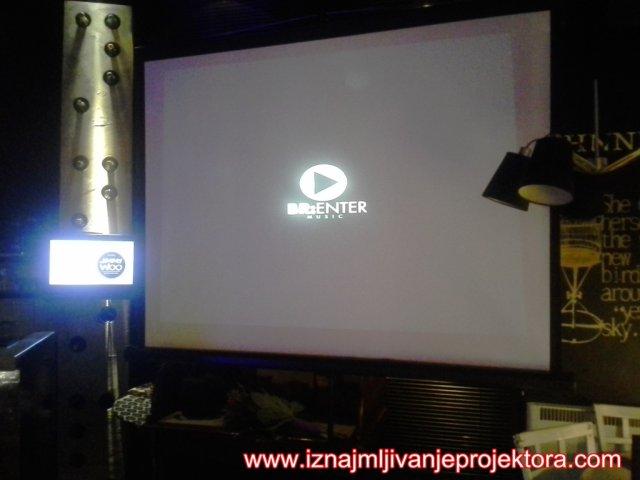 Projektor najam Promocija spota Anabela Kristijan