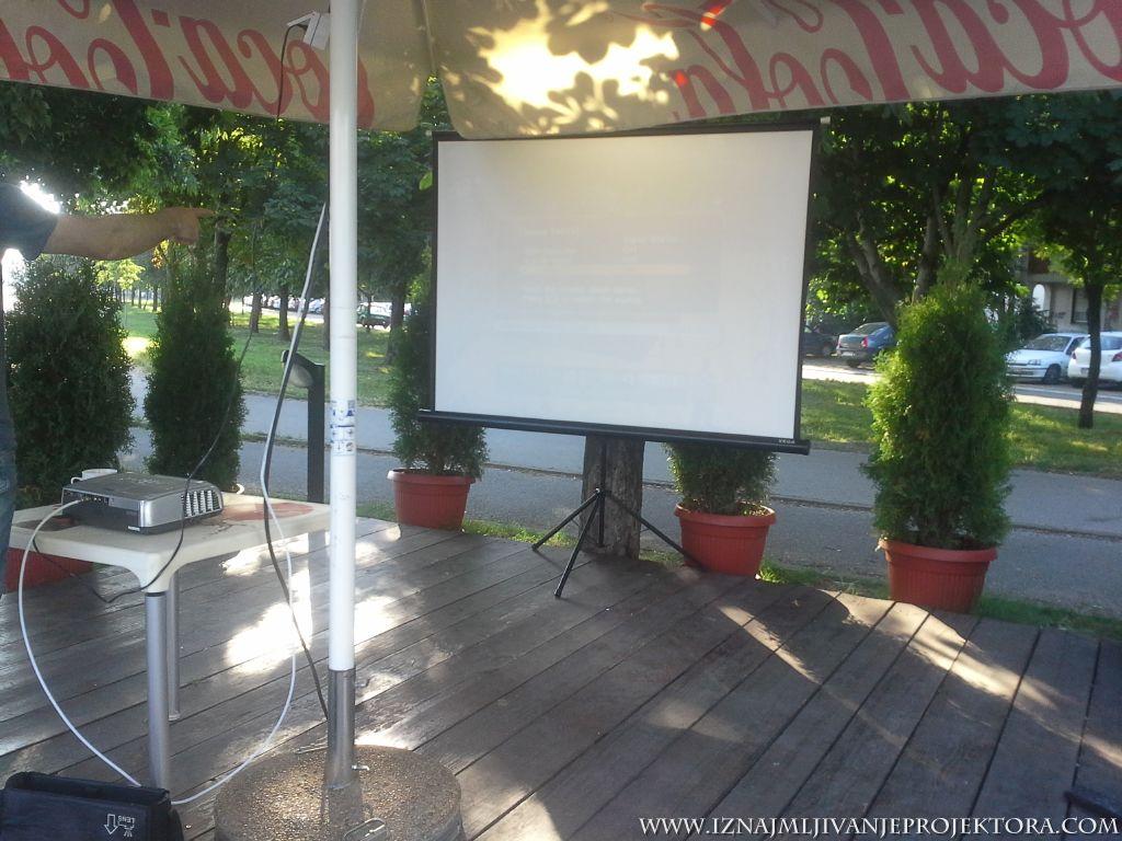 Eko pumpa Beograd – Iznajmljivanje projektora za utakmice