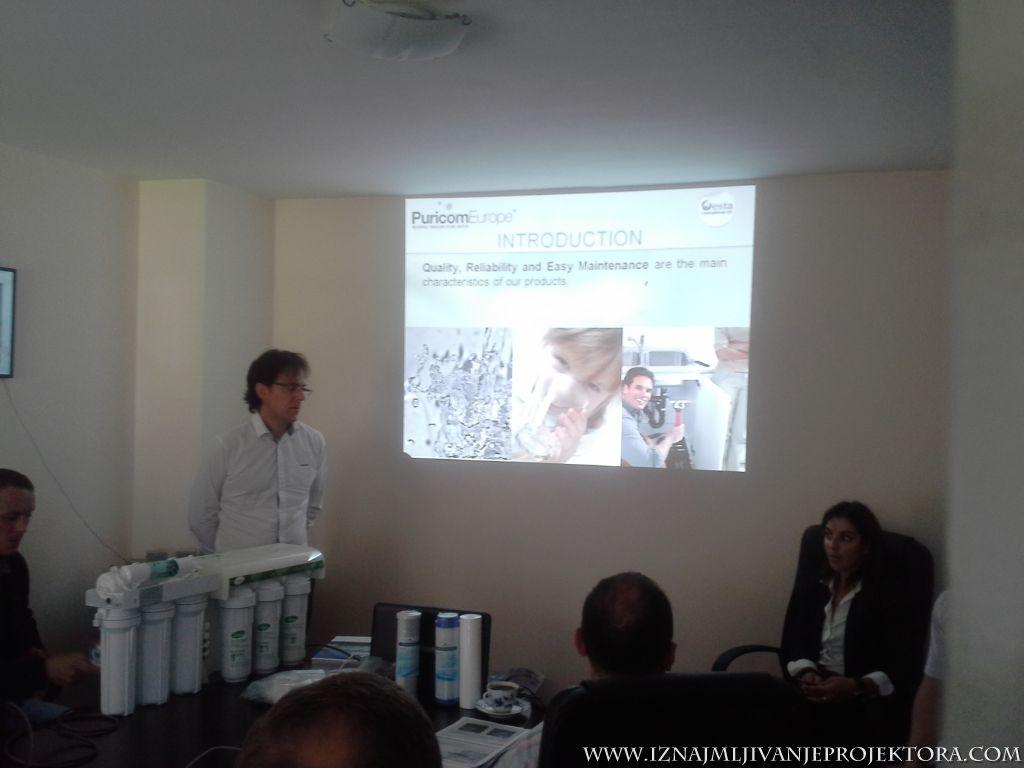 Prezentacija Puricom proizvoda u Beogradu – Iznajmljivanje projektora