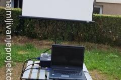 iznajmljivanje-projektora-za-rodjendan-napolju-5