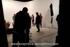 Snimanje spota u studiju Sapa Lights