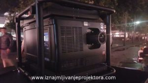 Profesionalni projektor marke Barco