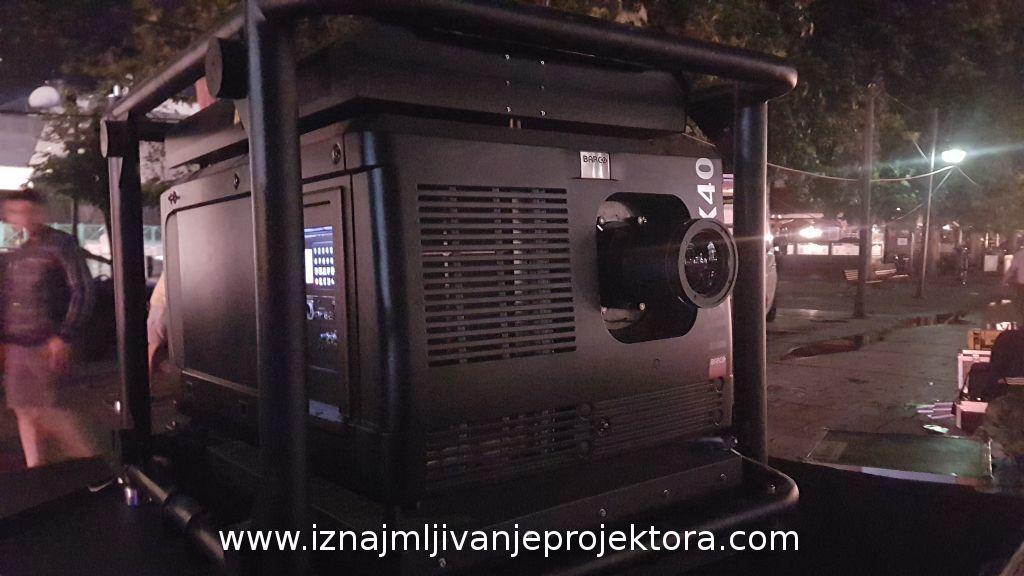 Iznajmljivanje projektora za promocije političkih stranaka