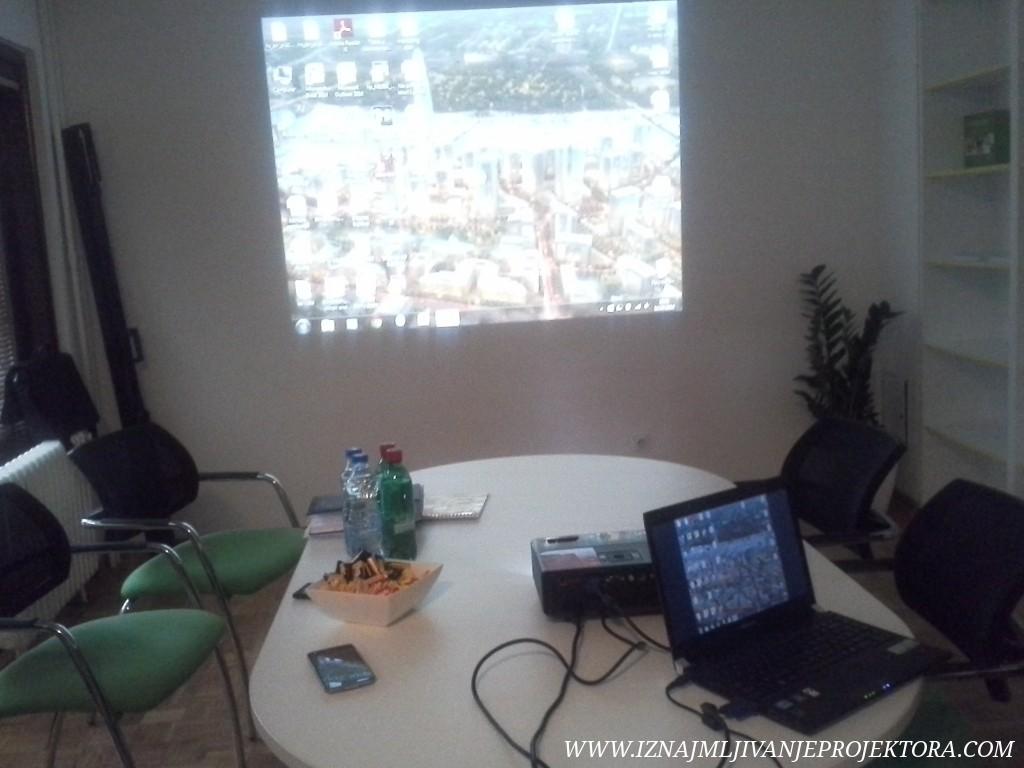 Iznajmljivanje projektora Klinika Alfa Medical Beograd