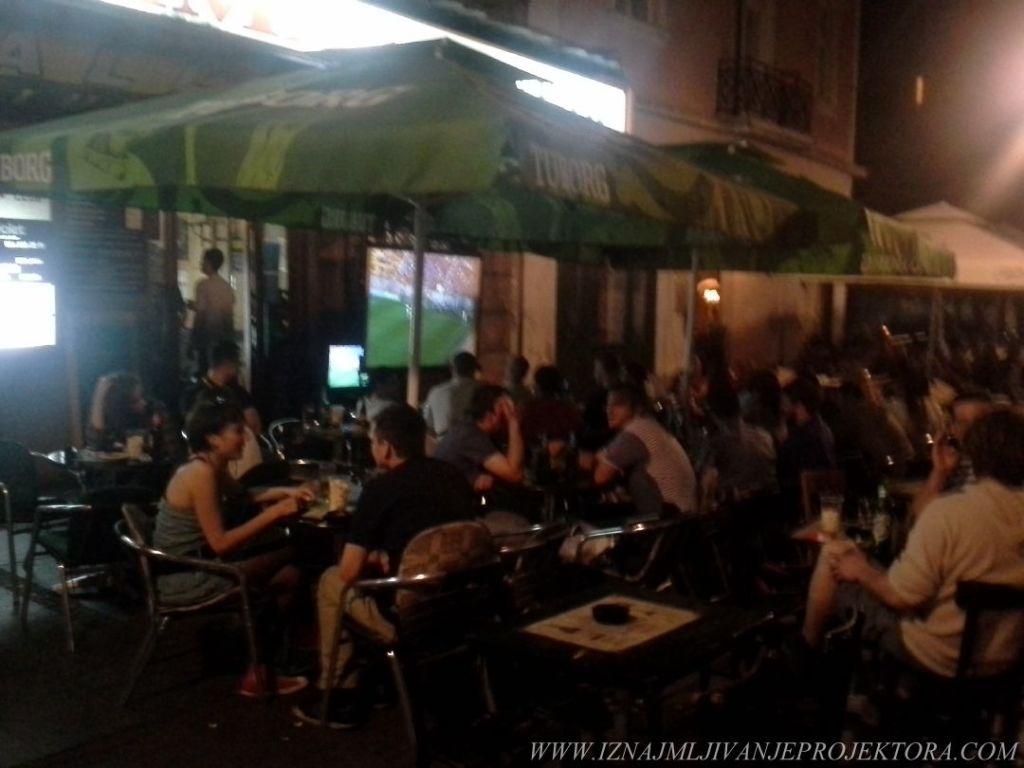 Caffe Marshall Beograd - Iznajmljivanje projektora za utakmice