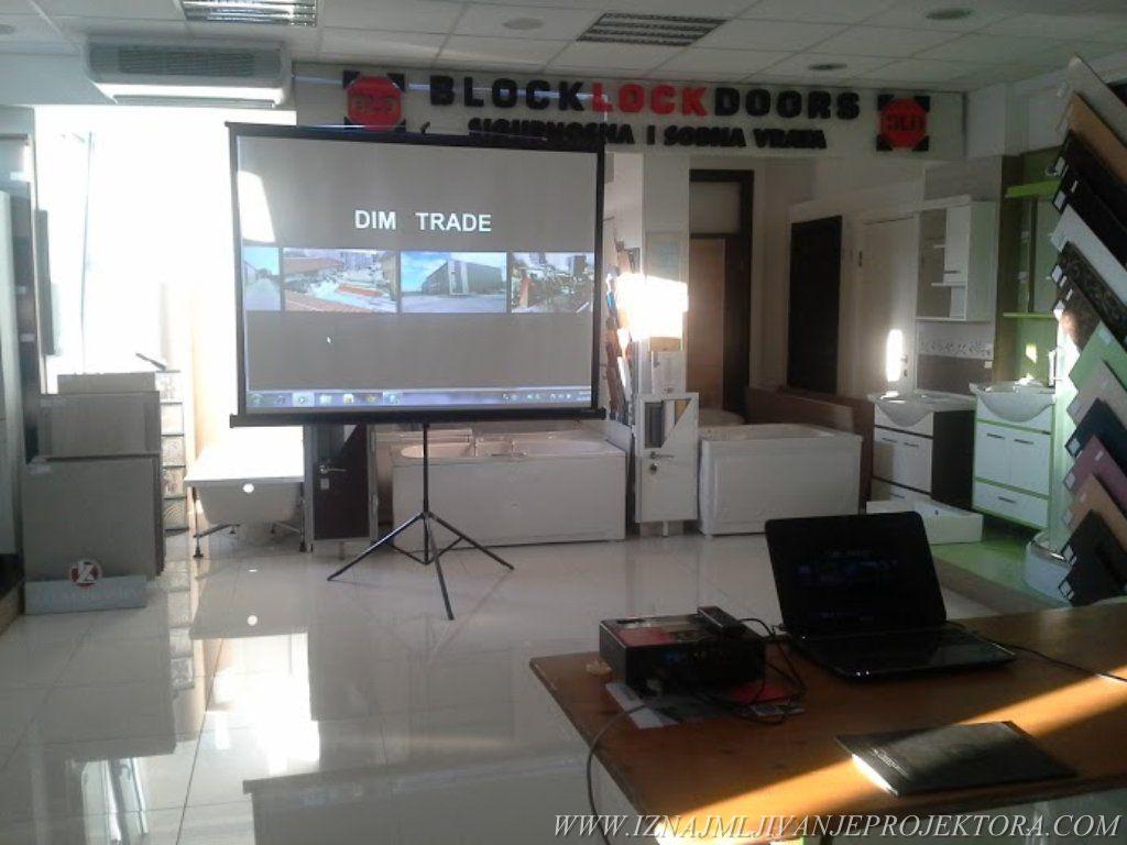 Dim Trade - Iznajmljivanje projektora za prezentaciju proizvoda