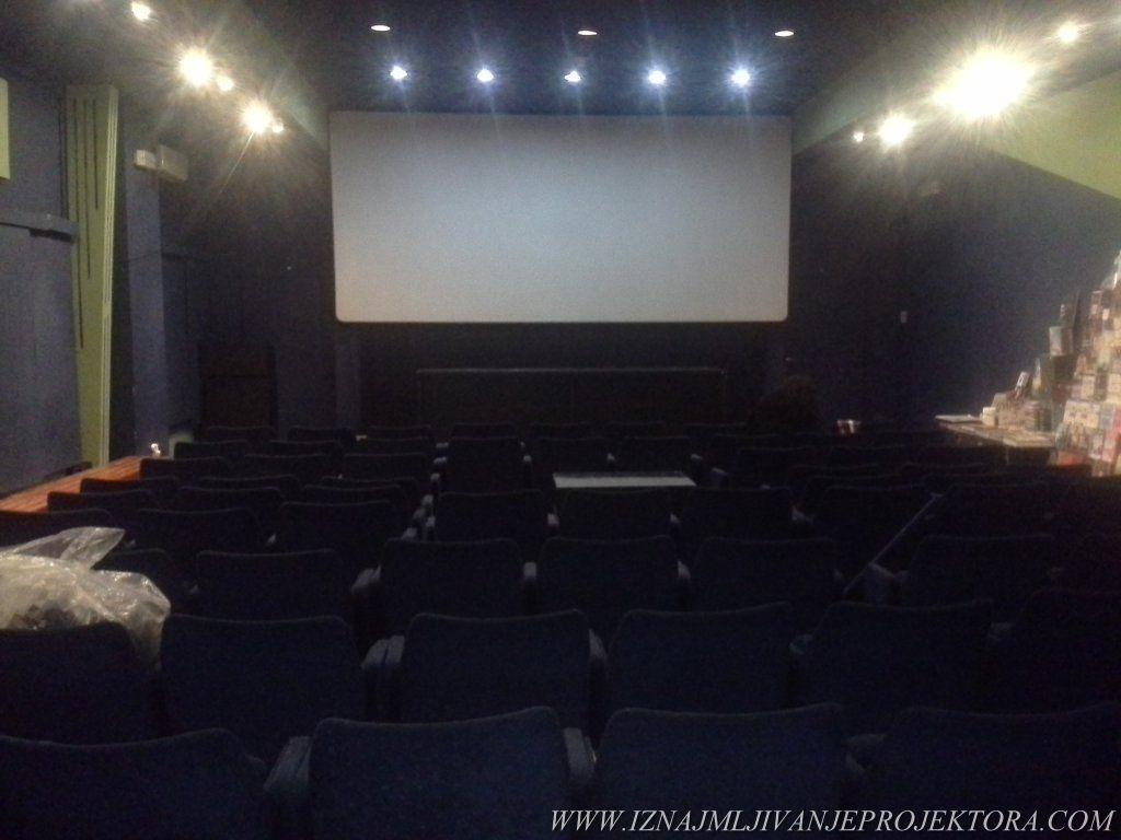 Iznajmljivanje projektora za potrebe evropskog filmskog festivala