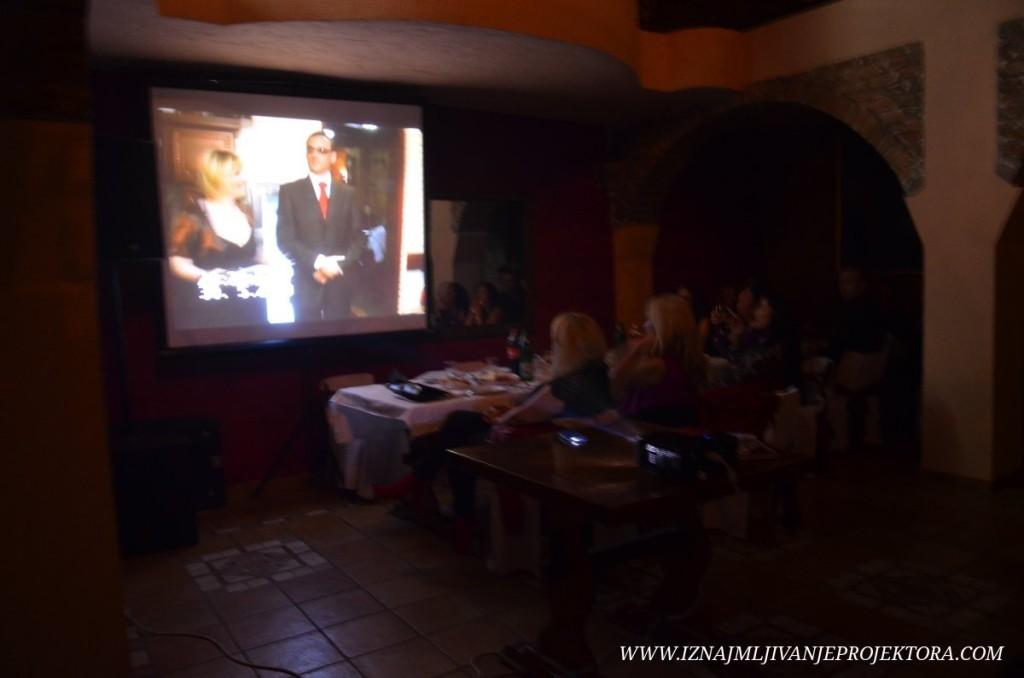 Iznajmljivanje projetkora za maturu u hotelu Skala u Beogradu