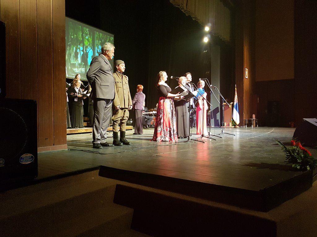 Iznajmljivanje projektora i platna - Dan Vojske Srbije - Požarevac