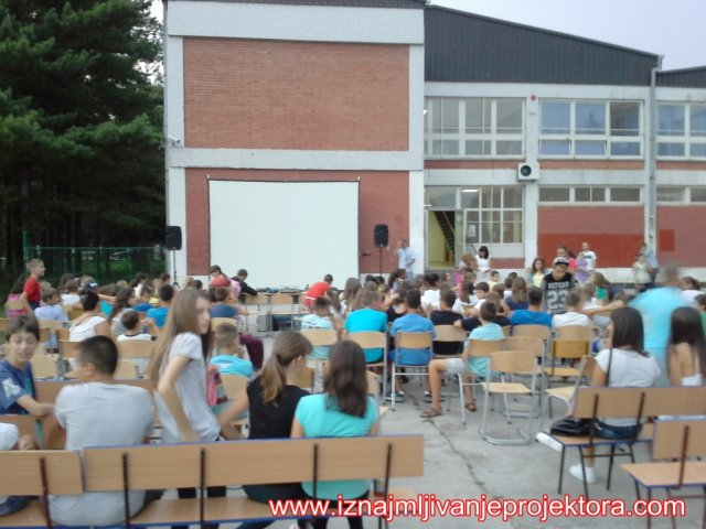 Iznajmljivanje projektora za školu u Obrenovcu