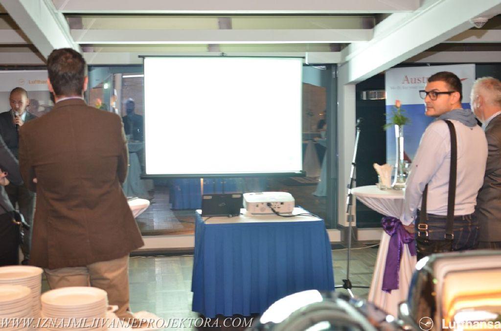 Iznajmljivanje projektora za poslovnu proslavu