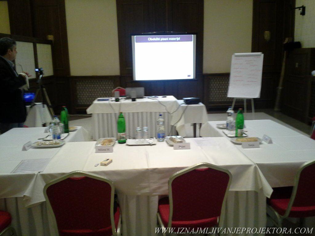 Iznajmljivanje projektora za poslovni kongres u Beogradu