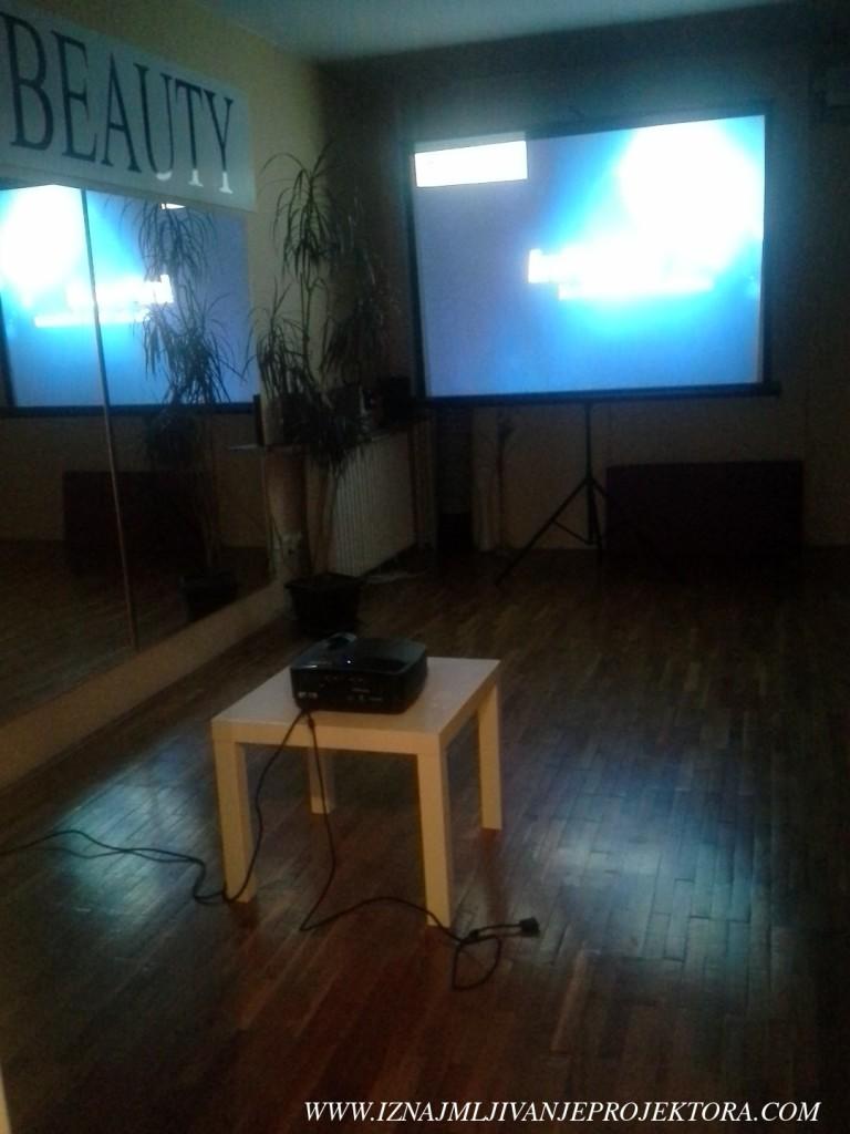 Iznajmljivanje projektora - Centar za jogu Beograd