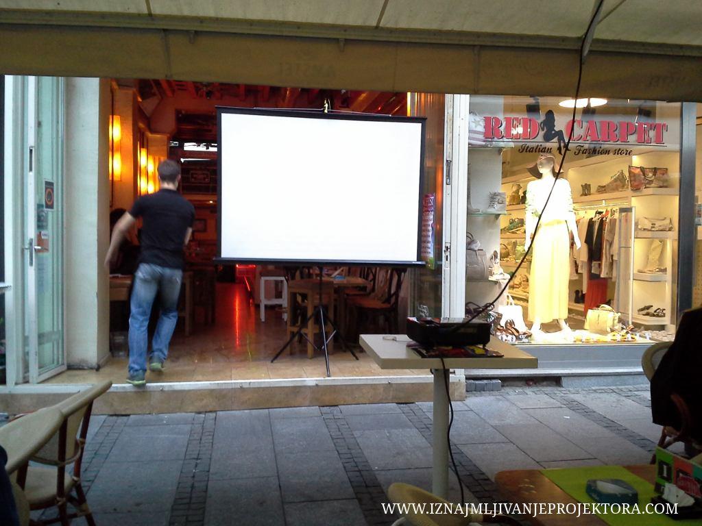 Iron Café Beograd – Iznajmljivanje projekora za utakmicu i karaoke