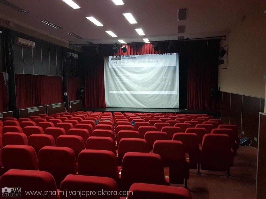 Kulturni centar Čukarica Iznajmljivanje projektora