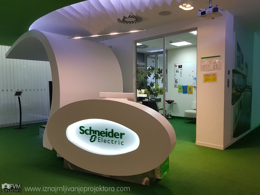 Iznajmljivanje projektora za Schneider Electric