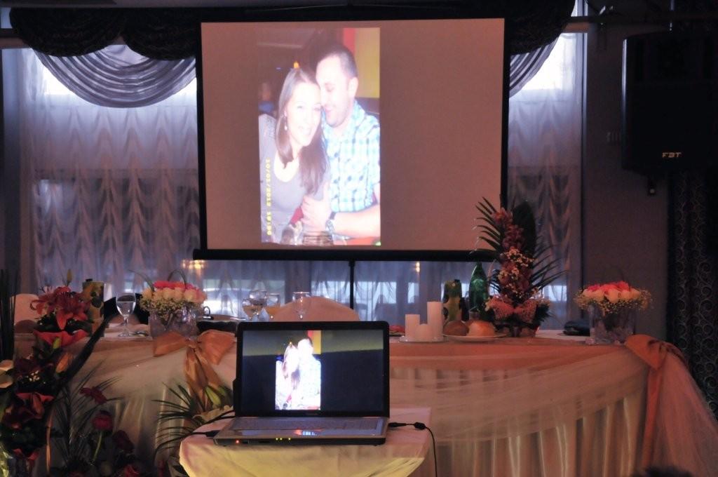 Konak estrada projektor za svadbu