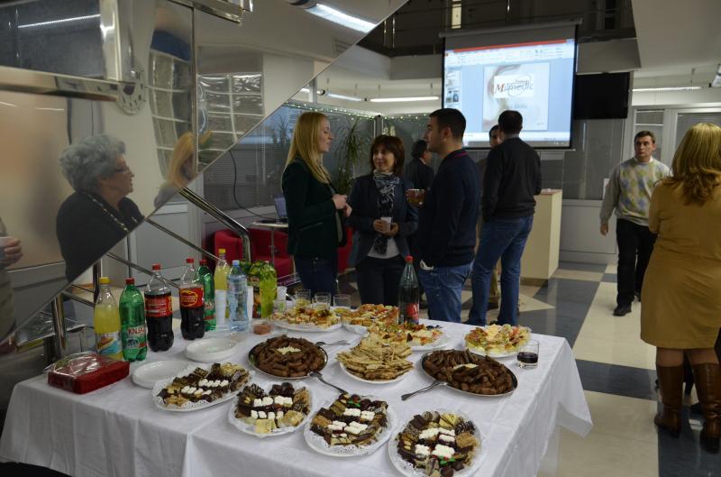 Očna klinika Milmedic proslava firme iznajmljivanje projekora
