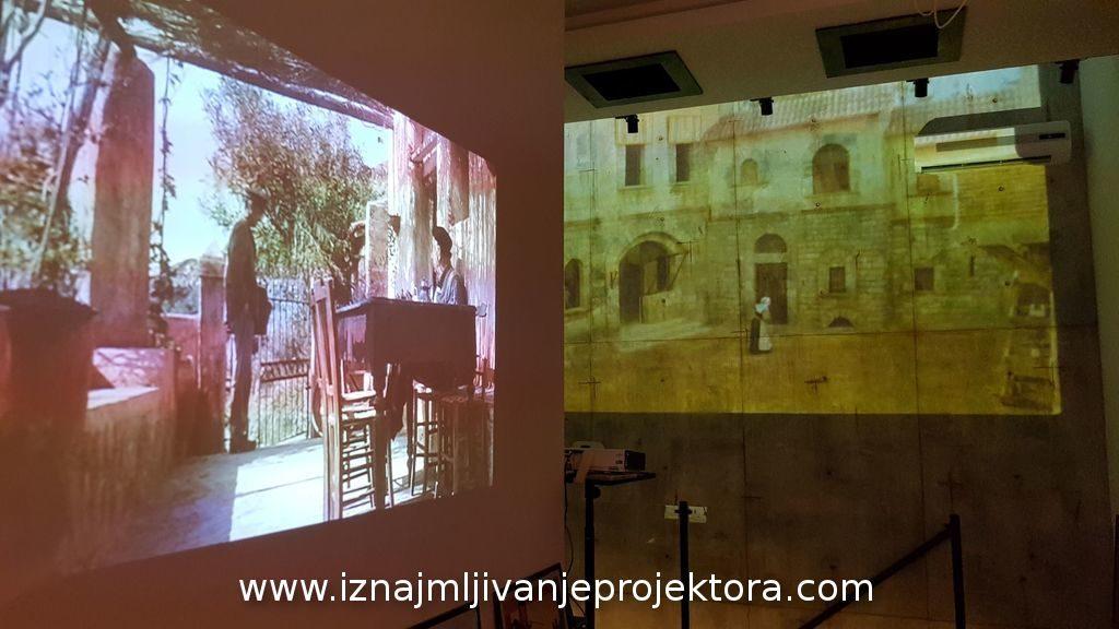 Iznajmljivanje projektora za Italijanski kulturni centar