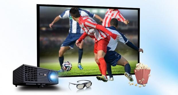 Projektor ViewSonic PJD7820HD: Savršen za gledanje fudbala