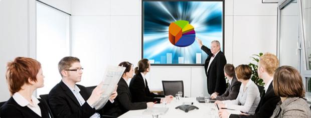 Projektor za poslovne prezentacije