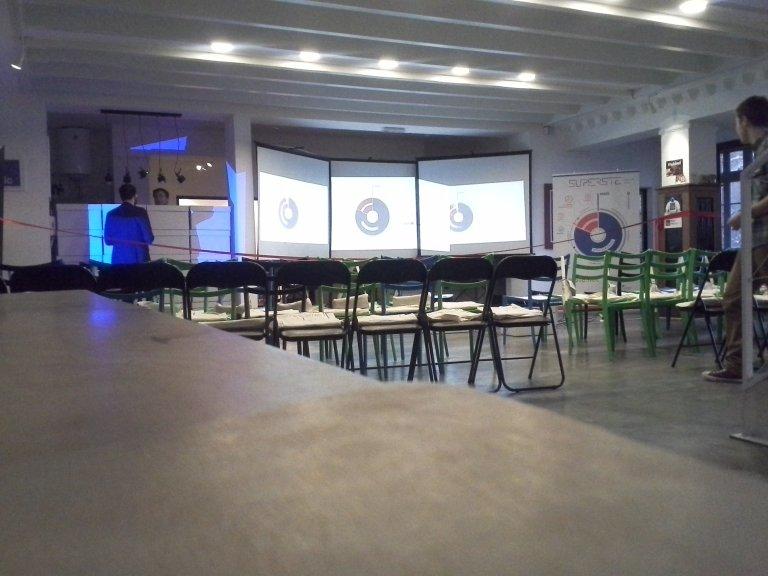 Iznajmljivanje sedam projektora za promociju Superste programa – Impact Hub Beograd