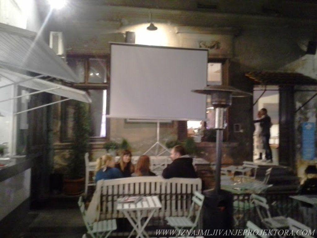 Restoran kafić Smokvica – Iznajmljivanje projektora za promociju filma