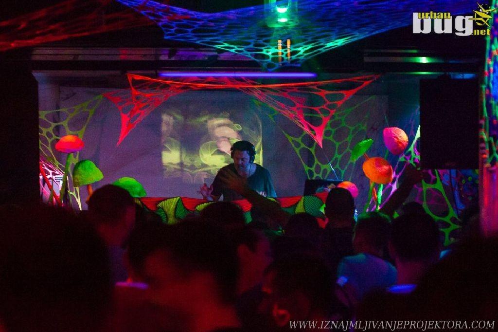 Iznajmljivanje projektora za Žurku Sioux Club Beograd