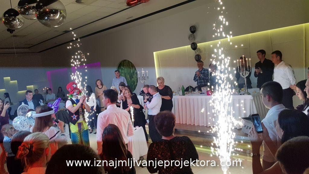 Iznajmljivanje projektora za dečji rođendan u hotelu Hedonic
