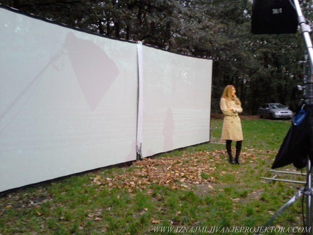 Snimanje spota Ane Stanić – Neka gori sve – Iznajmljivanje projektora