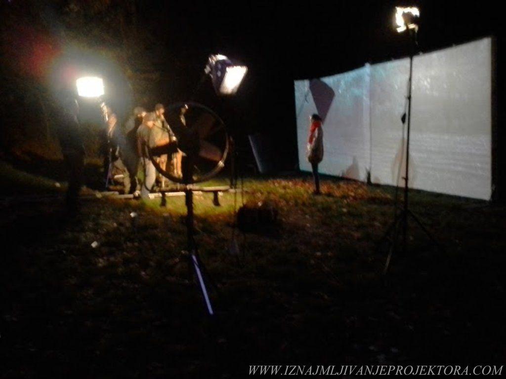 Ana Stanić - Snimanje spota neka gori sve