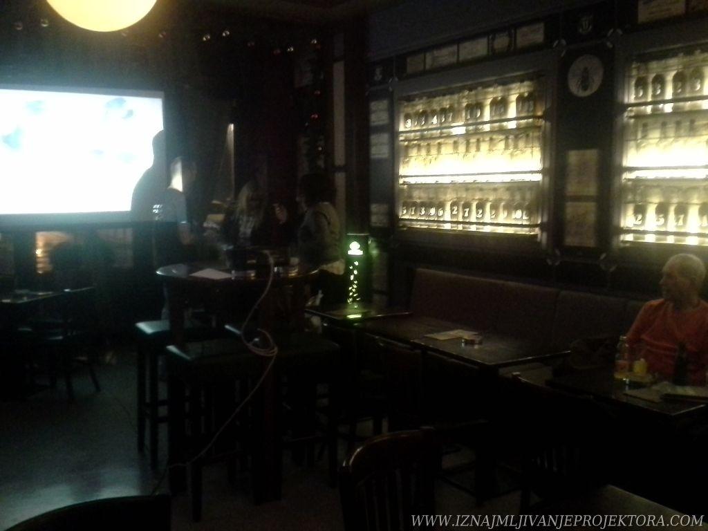 Srna Lango - Rentiranje projektora za promociju knjige