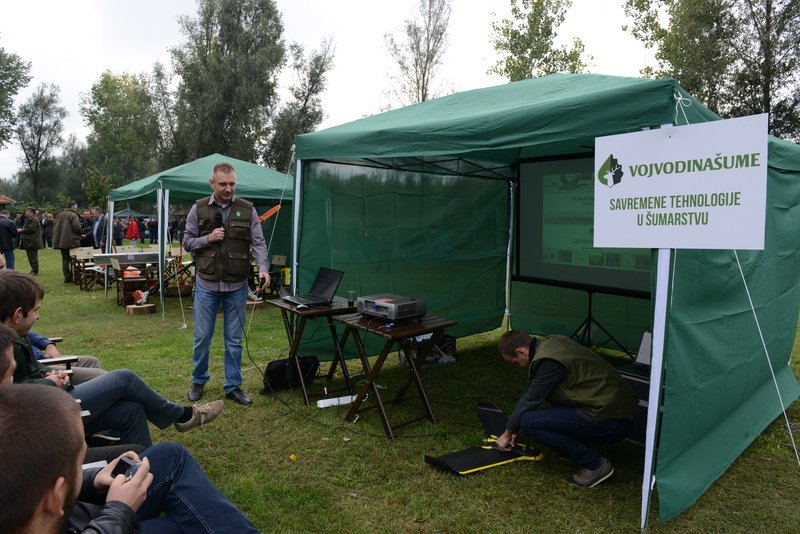 Iznajmljivanje projektora i ozvučenja – Vojvodina šume