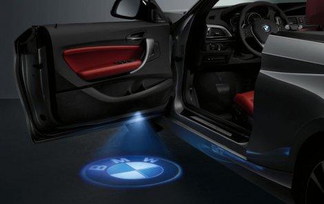Projektor u vratima automobila – Za prave BMW fanove